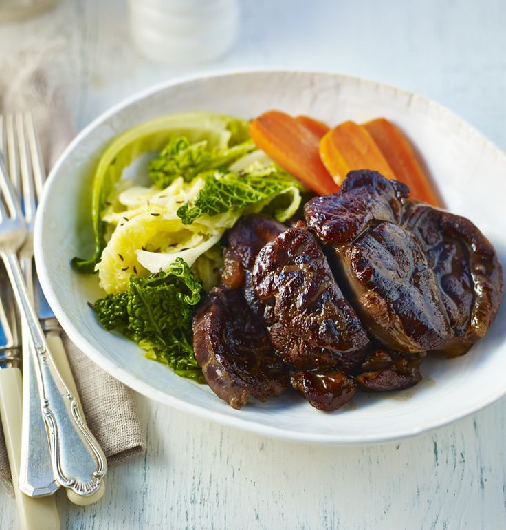 Tender beef braised slowly in red wine and stock takes a little preparation but is hard to beat