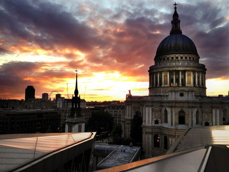 Because you can go on the roof on the One New Change shopping centre and see this. | 57 Reasons Living In London Ruins You For Life