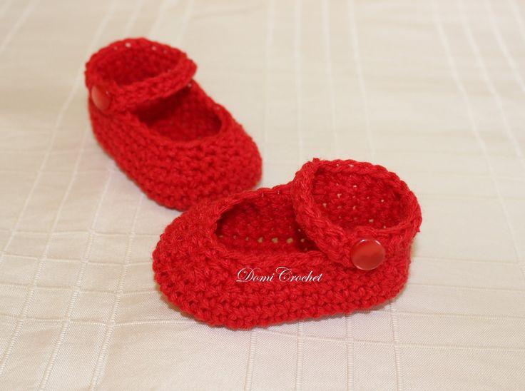 Návod na háčkovanie sandálok, veľkosť 10 cm- pre 1-3 mesačné bábo. Písaný postup, + veľkosť 4-6 mesiacov nájdete na blogu: http://domicrochet.blogspot.co.at/