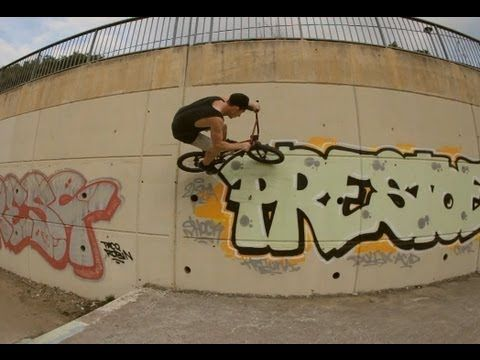 We The People BMX: Peter Sawyer and Jason Phelan in Spain.