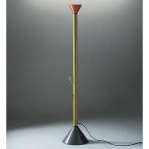 I have this Callimaco floor lamp designed by Ettore Sottsass in 1982 for Artemide.