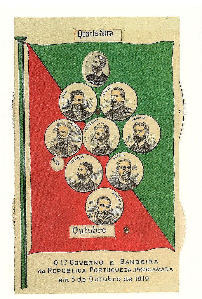 https://flic.kr/p/8QAC55 | O 1º Governo e Bandeira da República Portuguesa - em 5 de Outubro de 1910 | Casa dos Patudos - Museu de Alpiarça