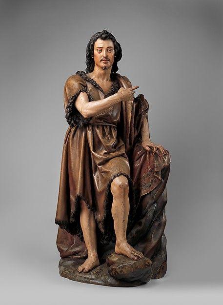 Saint John The Babtist, by Juan Martinez Montanes, 1620-30, Spain, poly chromed wood with gilding