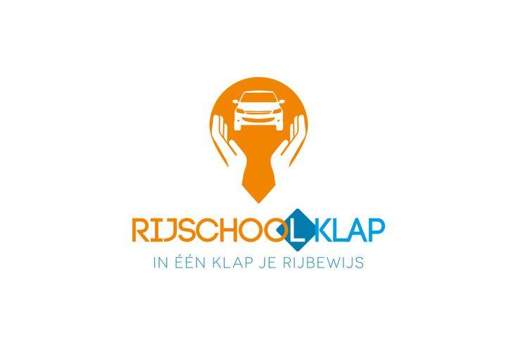 Rijschool Klap | Logo design | Driven school | Pach Design Communicatie
