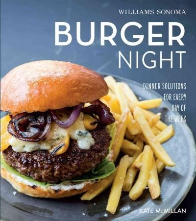 A burger is a classic dish, whether its for a Sunday supper or a backyard barbecue. Burger Night is the comprehensive yet easy-to-follow guide to great burgers. Theres something to please every burger