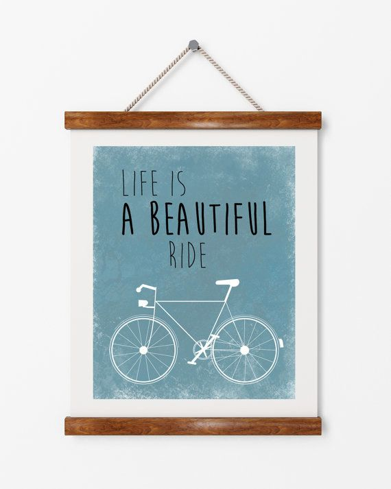 Life Is A Beautiful Ride | ► Grafisch | Postersinhuis.nl
