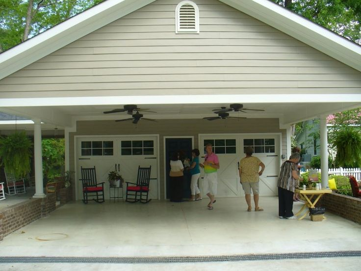 17 best attached carport ideas on pinterest carport for Carport with attached workshop