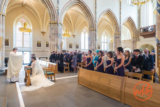 St Andrews Cathedral Glasgow wedding photography