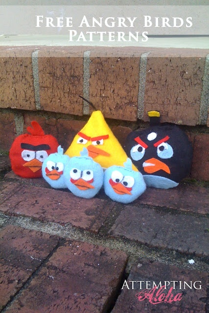 Attempting Aloha: Angry Birds Small Bean Bags - Free Printables