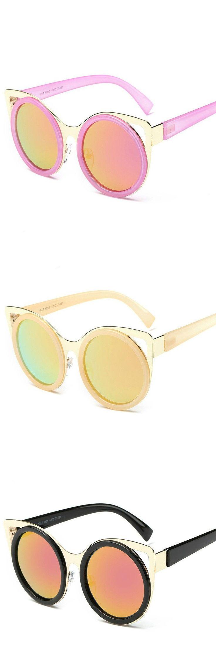 2016 new Lovely cat ears fashion child Polarized sunglasses kids boy girl sun glasses children UV400 As criancas oculos de sol