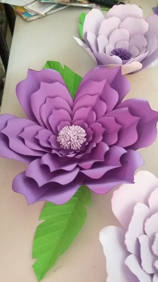 cool paper flower