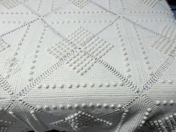 14 best colchas tejidas images on pinterest crochet - Colchas tejidas a crochet ...