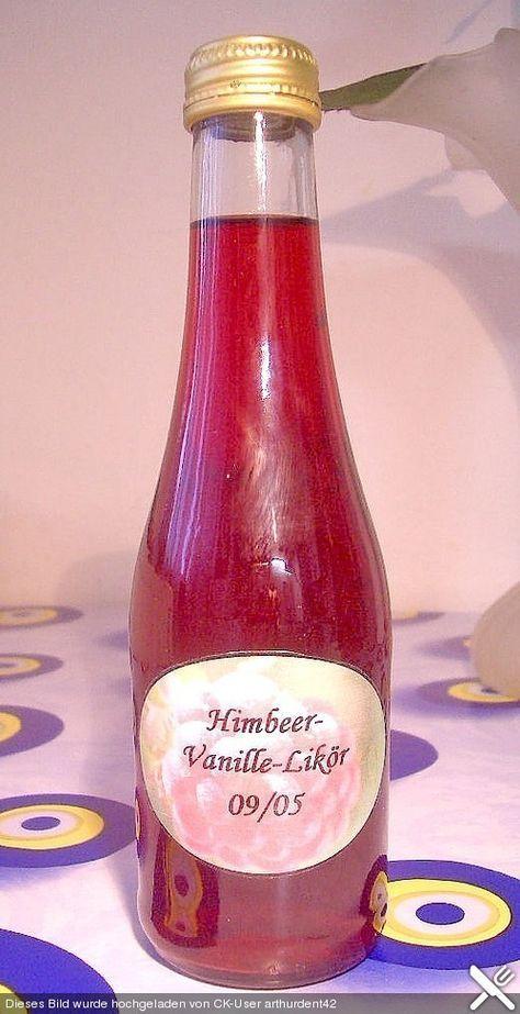 Himbeer - Vanille - Likör