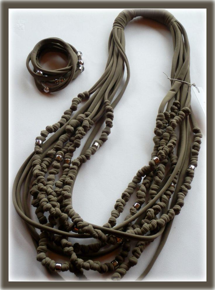 pietre e dintorni: collane fettuccia