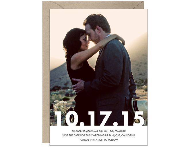 Save-the-Date Ideas We Love - The Knot