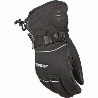 FLY Snow Ignitor-2 Heated Snowmobile Glove Black