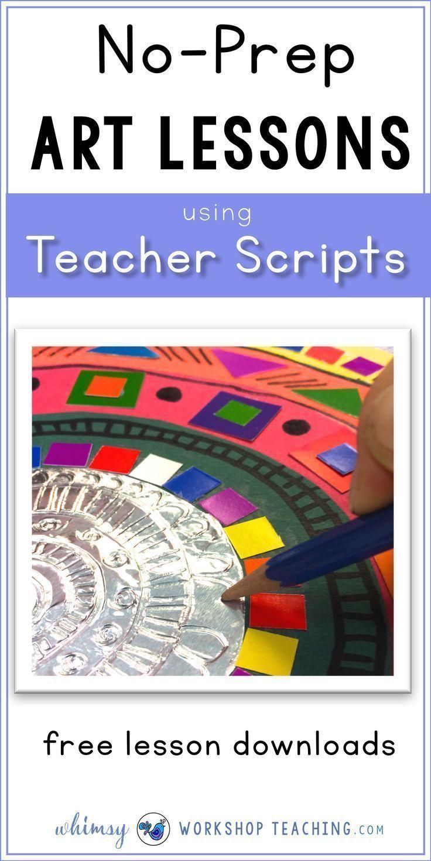 Wenn Sie vorgelesen haben, ist es einfach, Kunstunterricht und Kunstgeschichte zu erteilen …