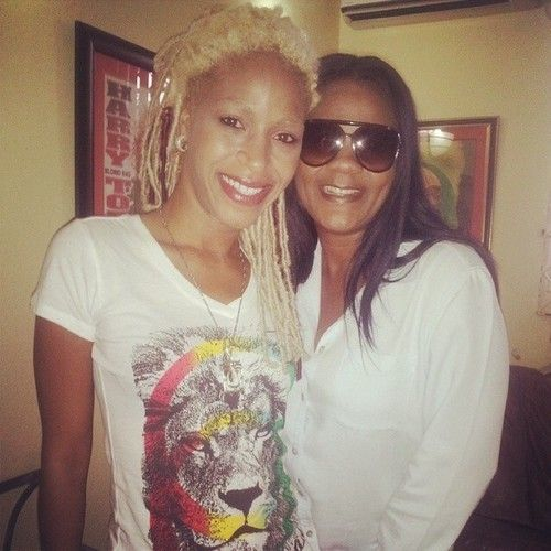 Nikki Z repin #Cooyah with Lady Saw dancehall queen. #dancehall #reggae #jamaica Leo t-shirt available at cyevolution.com