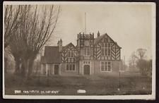 REAL PHOTO POSTCARD THE CARTER INSTITUTE CLANFIELD OXFORDSHIRE POSTED 1909