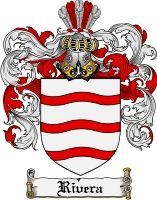 Rivera Coat of Arms / Rivera Family Crest gifts at www.4crests.com