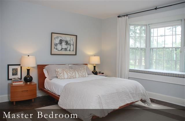 Light Gray Color Bedroom : Master bedroom wall color is benjamin moore wickham gray