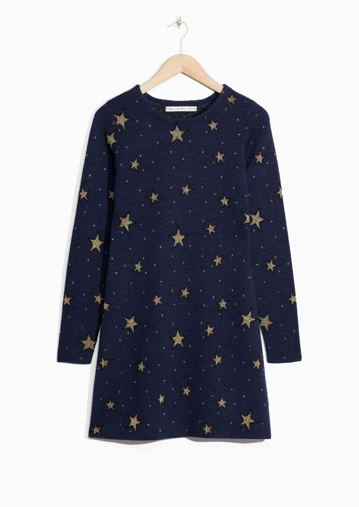 & Other Stories | Star Jacquard Dress