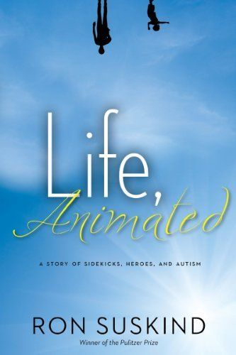 """""""Life, Animated"""" by Ron Suskind. The twisting, 20-year journey of the Pulitzer Prize-winning author's autistic son and his family will change that way you see autism, old Disney movies, and the power of imagination to heal a shattered, upside-down world.  http://www.amazon.com/dp/B00HEVTPJ0/ref=cm_sw_r_pi_dp_5-GEtb18ERTTC/176-3985358-3923566  #ASD #aspergers #suskind #autism #autismawareness #disney"""