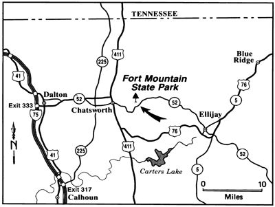 Fort Mountain State Park | Georgia State Parks - the one Andy recommended