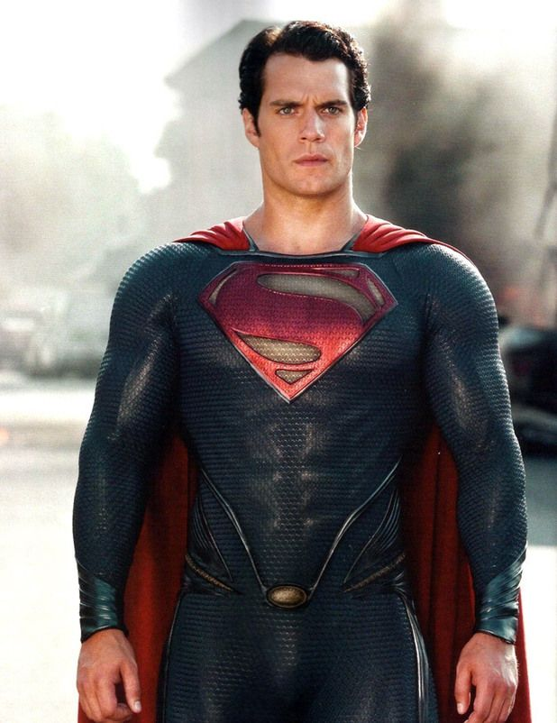 HENRY CAVILL as Superman PICTURES PHOTOS and IMAGES