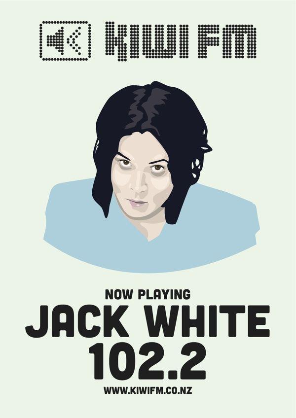 Jack White for Kiwi fm