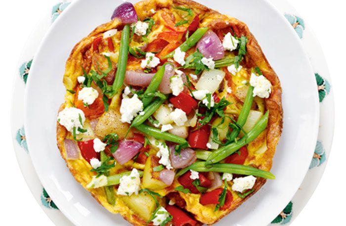 Ugnsrostade grönsaker med brynt salvia- och kaprissmör - Recept   Allt om Mat