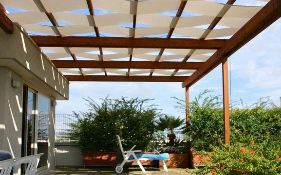 Telo ombreggiante onda - Coperture - Sunwood - Arredi per Parchi e Giardini, Arredi Urbani, pergole, gazebi
