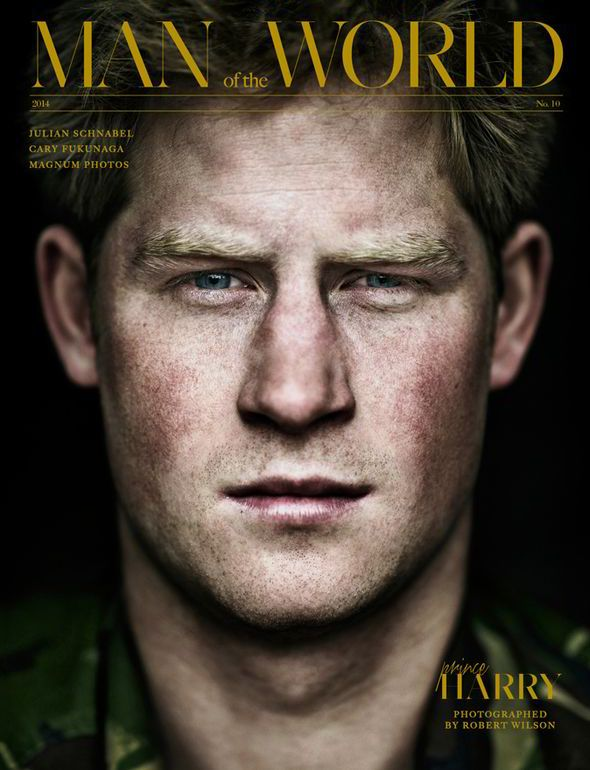Prince Harry by photographer Robert Wilson.