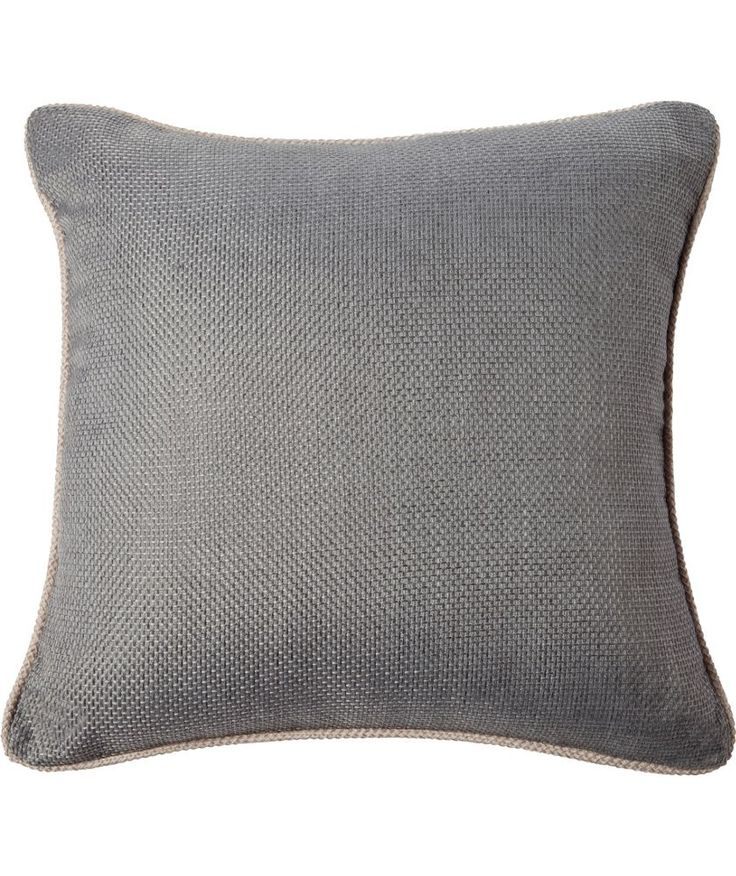 Buy Heart of House Hudson Textured Cushion - Charcoal at Argos.co.uk - Your Online Shop for Home furnishings, Limited stock Home and garden, Cushions.