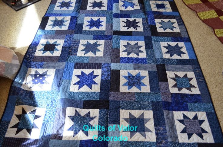 125 best images about Lucky Stars Quilt on Pinterest