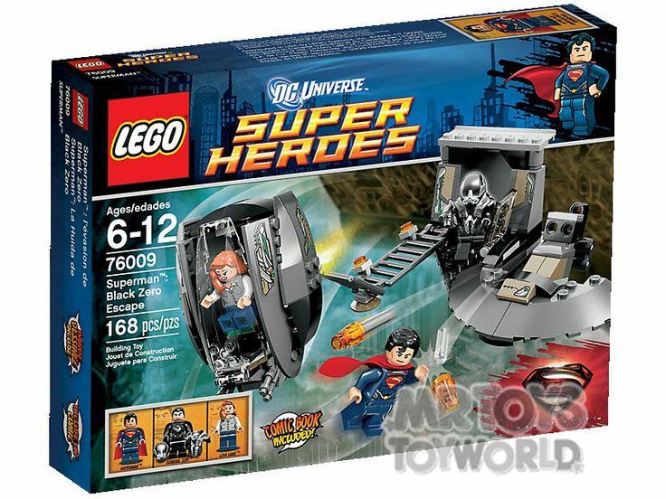 LEGO Super Heroes 76009 Superman: Black Zero Escape -
