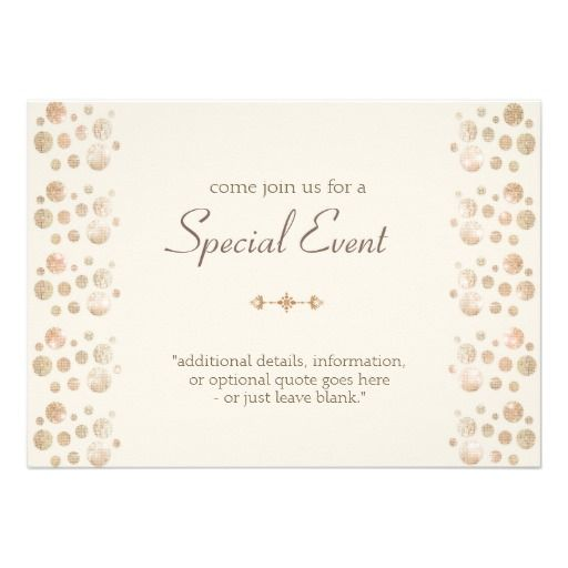 Best Formal Invitations Images On   Invitations