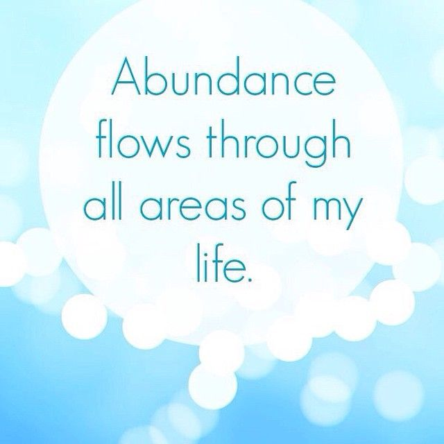 A great little affirmation to remind you that this wonderful Law of attraction