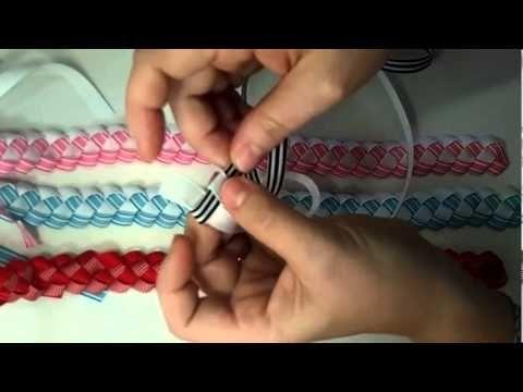 {202} Crafts for kids! Ribbon headbands for little girls DIY Thursday #31 - YouTube