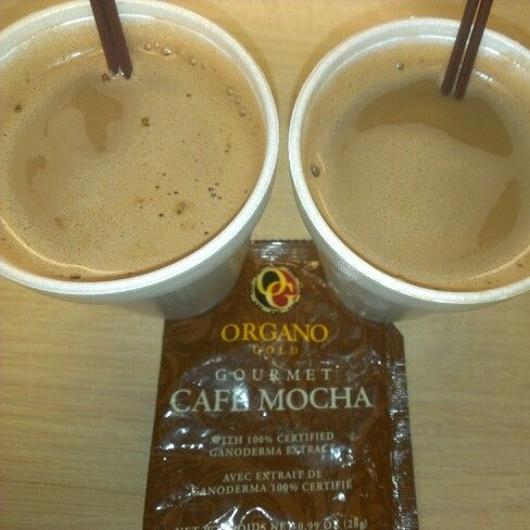 """One for me & One for you! """"The Coffee That Makes You Feel Good"""" www.nikkilovesredtea.organogold.com#OrganoGoldCafeMocha #organogold #itscoffee #healthycoffee #ganoderma #coffeethatpays #futurediamond #dreamchaser"""