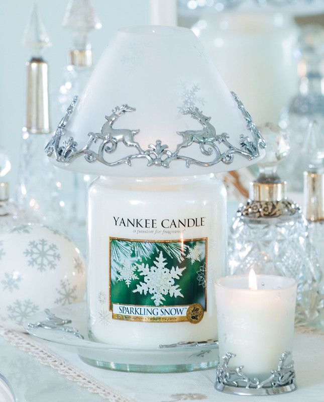 Yankee candle Sparkling snow