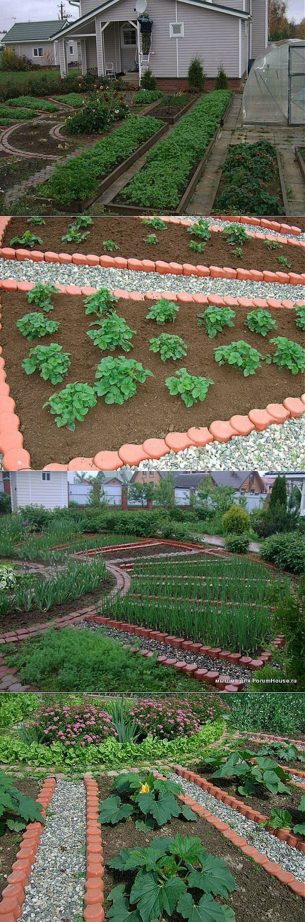 Beautiful vegetable and flower gardens - Find This Pin And More On Beautiful Vegetable Gardens