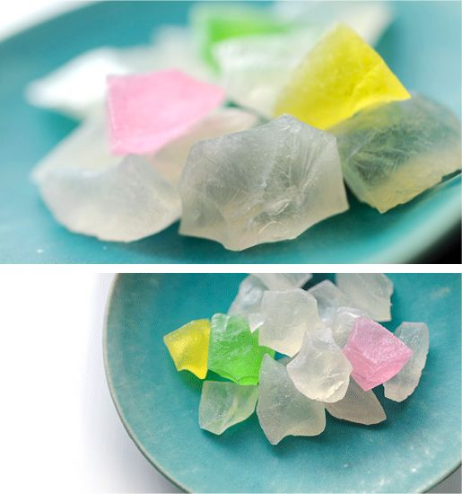 """WariKoori"" Japanese sweets(Kanazawa) like broken ice わり氷(ごおり) 金沢 村上"