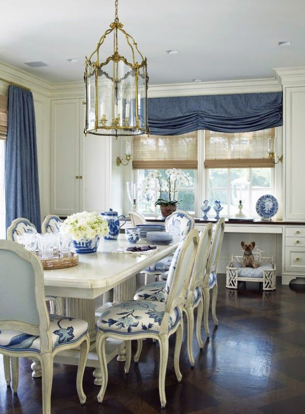 Beautiful Blue Dining Rooms: 16570 Best Chinoiserie: Beautiful Art Fusion Of East