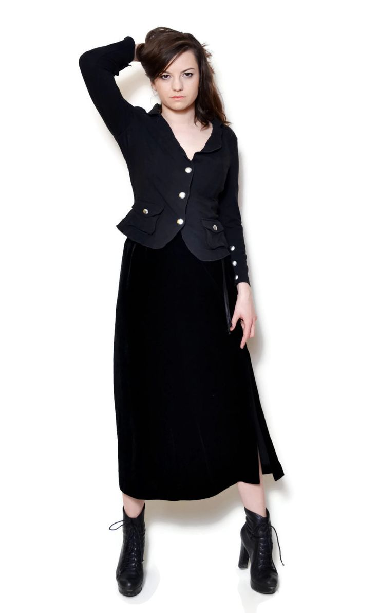 black blazer outfit casual simple  US$44.95