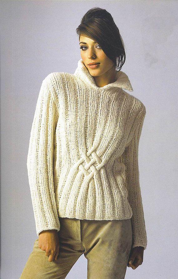 Hand stricken Damen Rollkragenpullover gemacht von BANDofTAILORS