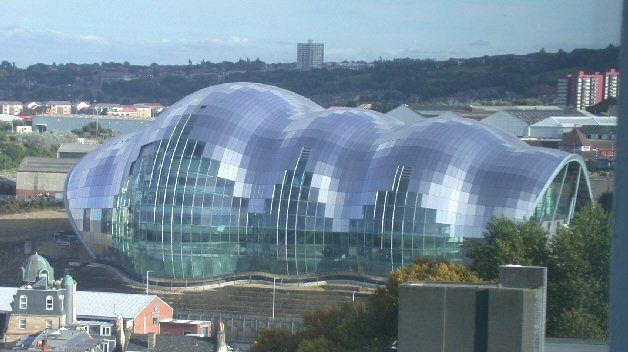 The Sage Gateshead 2004 - Blobitecture - Wikipedia, the free encyclopedia
