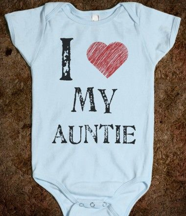 I love my Auntie onesie!! @Jenn L H Creations for the twins!