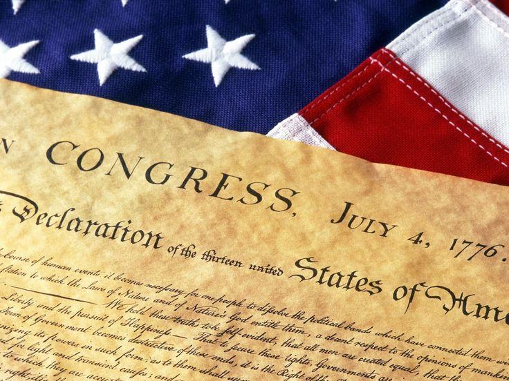 Há exatos 238 anos, em 4 de julho de 1776, era publicado o documento político mais importante da história do Ocidente: a Declaração de Independência dos Estados Unidos da América.