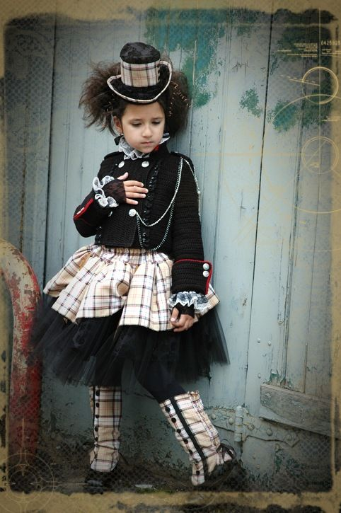 Flowergirl #Steampunk Wedding ... Wedding ideas for brides & bridesmaids, grooms & groomsmen, parents & planners ... https://itunes.apple.com/us/app/the-gold-wedding-planner/id498112599?ls=1=8 … plus how to organise an entire wedding, without overspending ♥ The Gold Wedding Planner iPhone App ♥